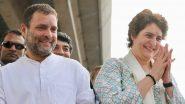 कांग्रेस नेता राहुल गांधी और प्रियंका गांधी के हाथरस जाने से पहले DND पर लगा पुलिस पहरा