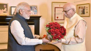 प्रधानमंत्री नरेंद्र मोदी ने लाल कृष्ण आडवाणी को उनके 92वें जन्मदिन पर दी बधाई, पार्टी के प्रति उनके योगदान की सराहना की