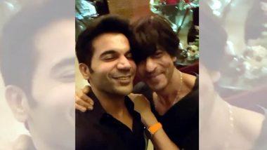 राजकुमार राव ने सोशल मीडिया पर शाहरुख खान संग शेयर किया फैनबॉय मोमेंट, देखें Video