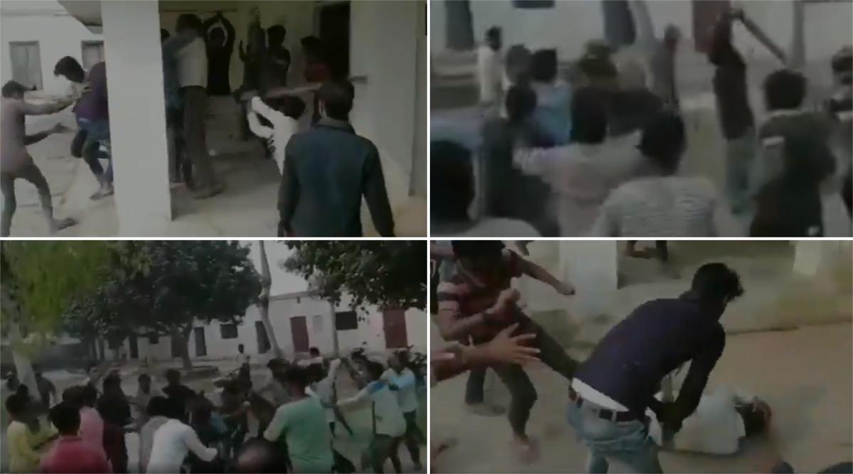 उत्तर प्रदेश: प्रयागराज में छात्रों की गुंडागर्दी, छेड़खानी का विरोध करने पर टीचर को लाठी-डंडो से पीटा, वीडियो हुआ वायरल