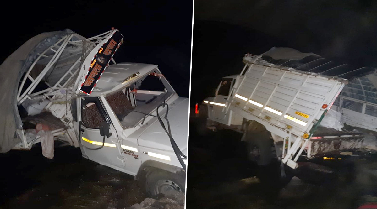 महाराष्ट्र: धुले में ब्रिज से नीचे गिरी पिकअप वैन, 7 लोगों की मौत- 20 घायल
