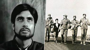 अमिताभ बच्चन ने फिल्म इंडस्ट्री में पूरे किए 50 साल, ऐसे मिली थी पहली फिल्म सात हिंदुस्तानी