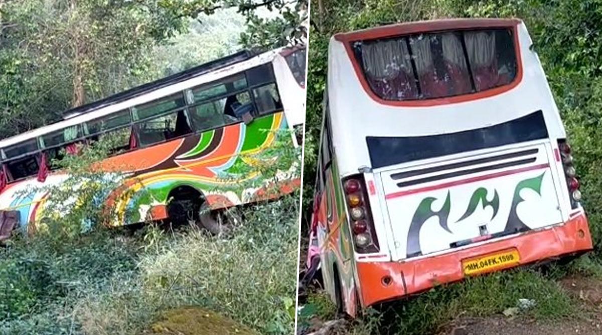 महाराष्ट्रः मुंबई-पुणे हाइवे पर भोर घाट के पास भीषण बस दुर्घटना में 5 की मौत और 30 घायल, ड्राइवर की लापरवाही से हुआ हादसा
