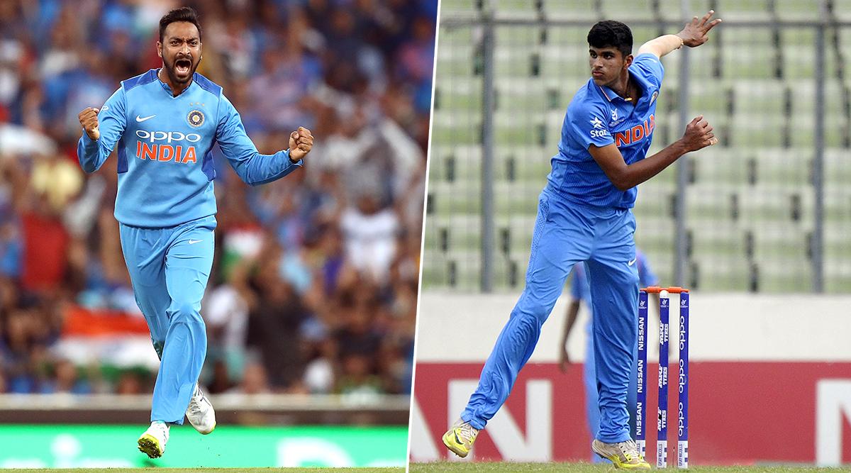 IND vs BAN 1st T20I 2019: वॉशिंगटन सुंदर और क्रूणाल पांड्या ने आखिरी ओवरों में की आतिशी बल्लेबाजी, भारत ने बनाया 148/6