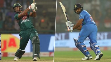 IND 154/2 in 15.4 Overs (Target 153/6) | India vs Bangladesh 2nd T20I 2019 Live Score Update: रोहित शर्मा को मिला 'मैन ऑफ द मैच'
