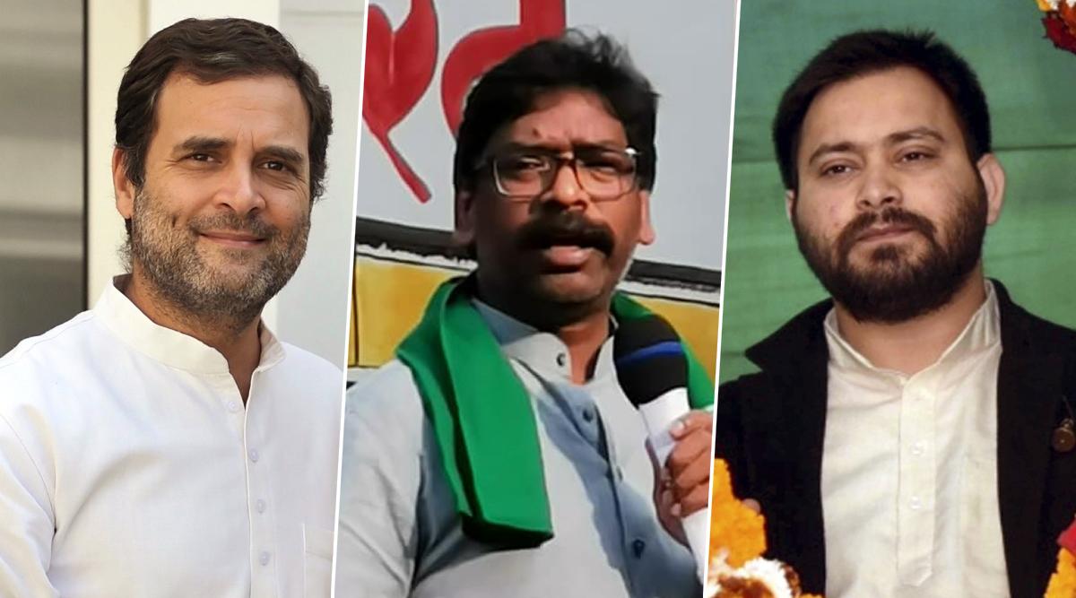 झारखंड विधानसभा चुनाव 2019: बीजेपी को सत्ता से बेदखल करने के लिए एक हुआ विपक्ष, कांग्रेस के साथ आए ये बड़े दल