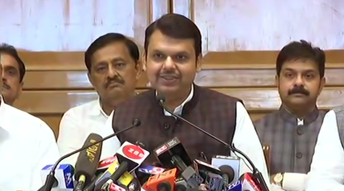 मुख्यमंत्री देवेंद्र फडणवीस का बड़ा ऐलान, बारिश से प्रभावित किसानों के लिए 5380 करोड़ रुपये किए मंजूर