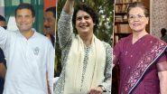 झारखंड विधानसभा चुनाव 2019: कांग्रेस ने पूर्व पीएम मनमोहन सिंह, सोनिया, राहुल गांधी समेत 40 स्टार प्रचारकों की लिस्ट, प्रियंका गांधी का नाम गायब