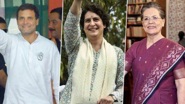 झारखंड विधानसभा चुनाव 2019: कांग्रेस ने पूर्व पीएम मनमोहन सिंह, सोनिया, राहुल गांधी समेत 40 स्टार प्रचारकों की लिस्ट किया जारी, प्रियंका गांधी का नाम गायब
