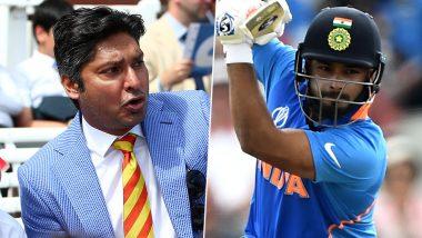 कुमार संगाकारा ने कहा- ऋषभ पंत को समझना चाहिए, सामने T20 वर्ल्ड कप है