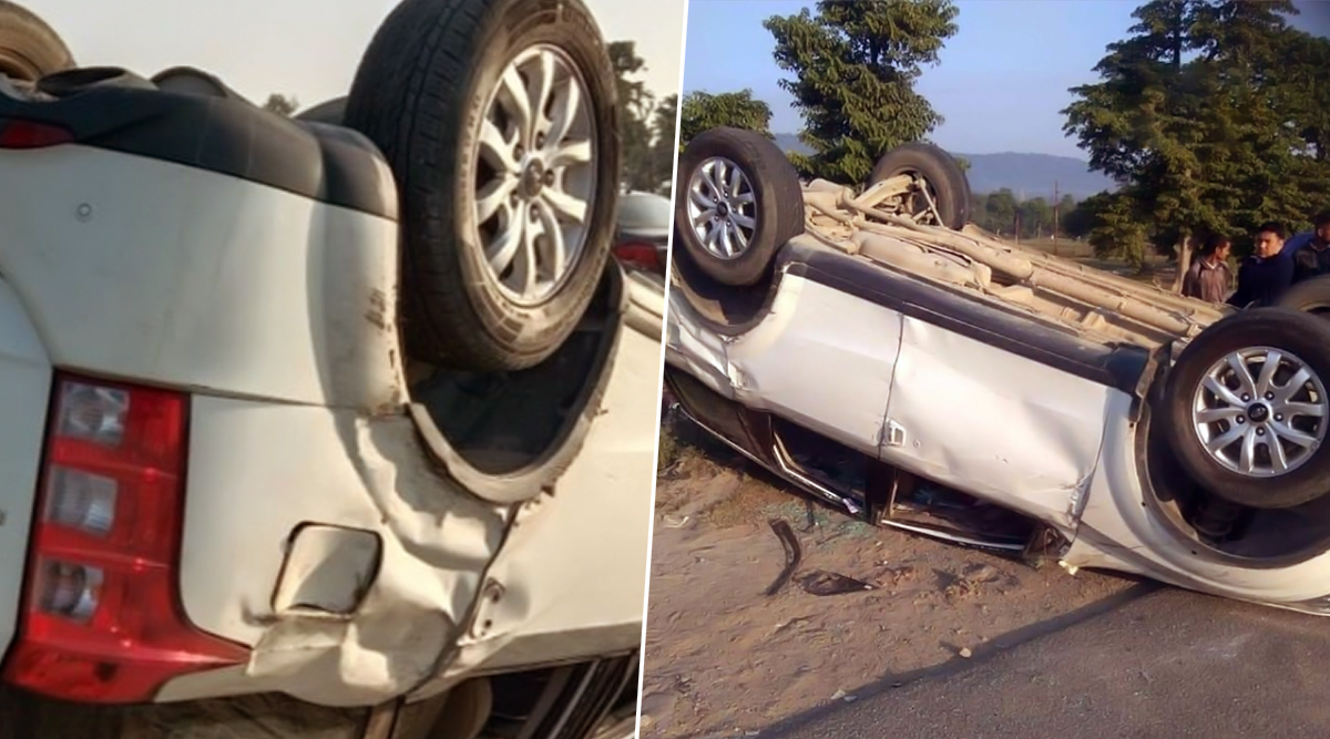 बीजेपी सांसद तीरथ सिंह रावत की कार हुई दुर्घटनाग्रस्त, बाल-बाल बची जान- दिल्ली से लौटेते वक्त हुआ हादसा