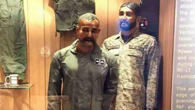 पाकिस्तान की ओछी हरकत: PAK वायु सेना ने वॉर म्यूजियम लगाया विंग कमांडर अभिनंदन का पुतला