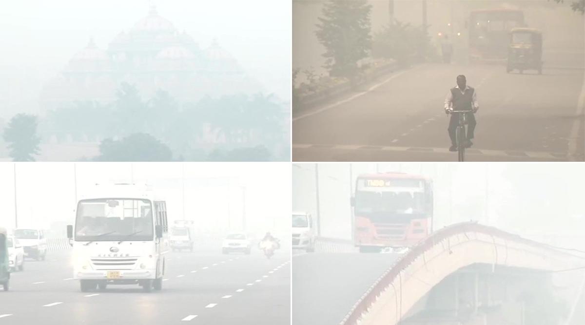 दिल्ली-एनसीआर में वायु की गुणवत्ता आज भी 'गंभीर', सांस लेना हुआ दूभर