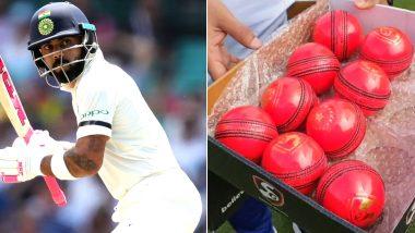 Ind vs Ban Test Series 2019: छुट्टी के बाद पूरे रंग में दिखे कप्तान विराट कोहली, पिंक बॉल से जमकर की प्रैक्टिस, देखें वीडियो