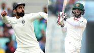 Ban 140/7 in 54 Overs | India vs Bangladesh 1st Test Match 2019 Day-1 Live Score Updates: शमी ने लगातार 2 गेंदों पर लिए दो विकेट, संकट में बांग्लादेश की टीम