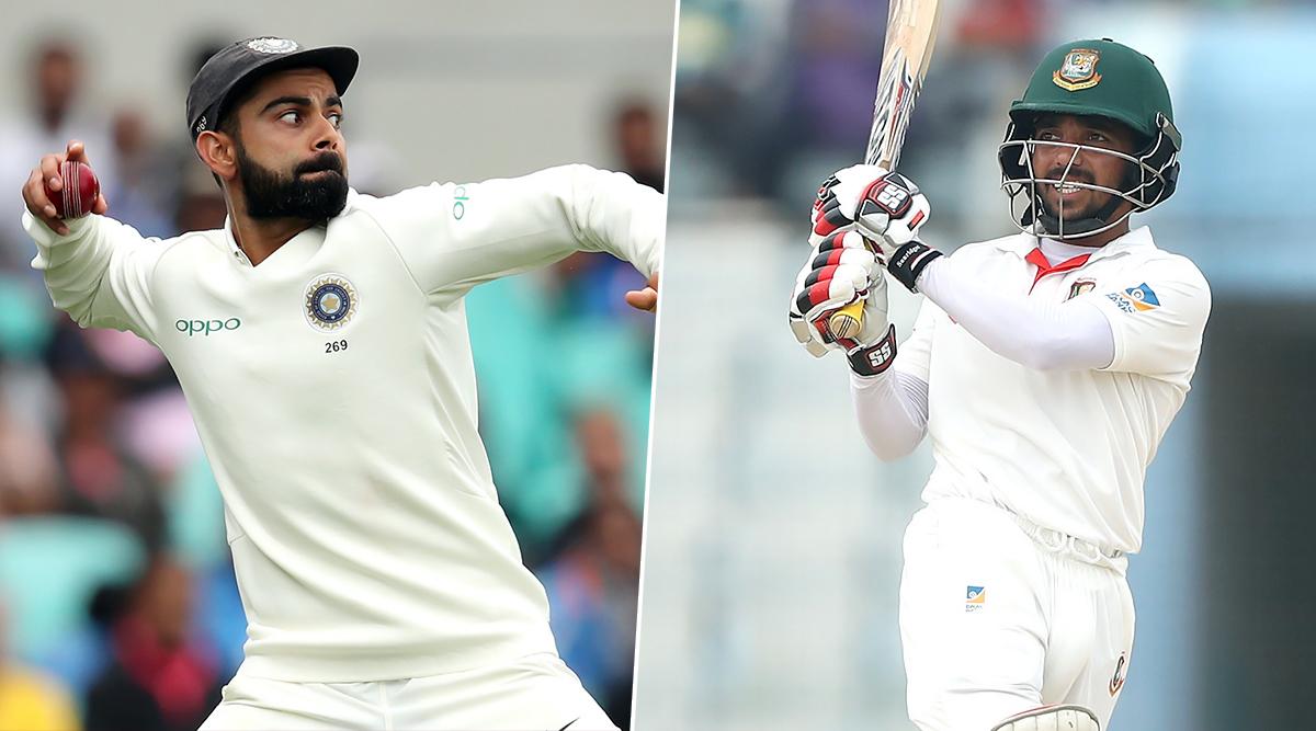 Ind vs Ban 2nd Test 2019: भारत ने अपनी पहली पारी 347/9 पर की घोषित