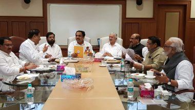 महाराष्ट्र में सरकार बनाने को लेकर शिवसेना ने की कांग्रेस-NCP के साथ बैठक, जल्द सोनिया गांधी से मिल सकते हैं शरद पवार