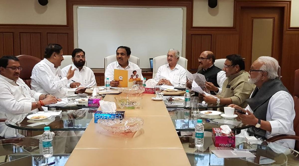 महाराष्ट्र सत्ता संघर्ष: राज्यपाल भगत सिंह कोश्यारी से मिलेंगे कांग्रेस-एनसीपी और शिवसेना के नेता, इस मुद्दे पर करेंगे चर्चा