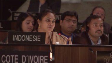 भारत ने एक बार फिर अंतरराष्ट्रीय मंच पर पाकिस्तान को जमकर लताड़ा, कहा-आतंकवाद उनके DNA में है
