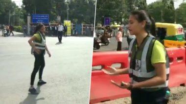 मध्यप्रदेश: इंदौर में MBA की छात्रा शुभी जैन का अनोखी पहल,  इस तरह जनता को कर रही हैं ट्रैफिक नियमों के प्रति जागरूक, देखें वीडियो