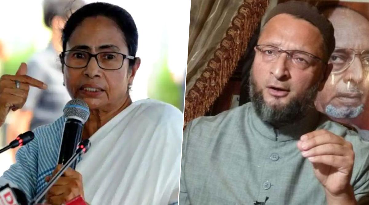 ममता बनर्जी ने असदुद्दीन ओवैसी पर बोला हमला, कहा- अल्पसंख्यक ऐसे नेताओं पर ना करें भरोसा
