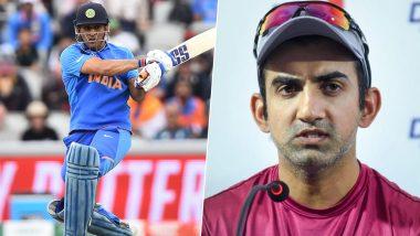 गौतम गंभीर ने किया बड़ा खुलासा, कहा- धोनी की वजह से 2011 वर्ल्ड कप के फाइनल में शतक नहीं हुआ पूरा