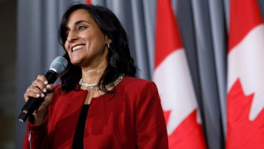 अनीता आनंद बनीं कनाडा की पहली हिंदू मंत्री, ये है उनका भारतीय कनेक्शन