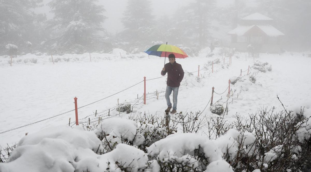हिमाचल प्रदेश में बड़े पैमाने पर बारिश और हिमपात की संभावना- मौसम विभाग