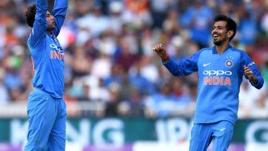 IND vs WI Series 2019: टीम इंडिया में कुलदीप यादव की वापसी के बाद युजवेंद्र चहल ने खास अंदाज में जताई खुशी, देखें तस्वीर