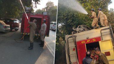 दिल्ली में प्रदूषण रोकने के लिए वृक्षों पर छिड़का जाएगा पानी