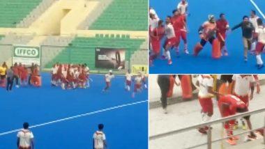 खेल का मैदान बना अखाड़ा: नेहरू कप फाइनल में भिड़े हॉकी खिलाड़ी, जमकर हुई हाथापाई