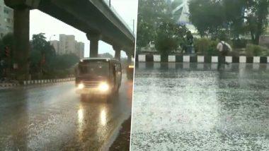 दिल्ली में बारिश से गिरा पारा, पहाड़ों में बर्फबारी से मैदानी इलाकों में बढ़ी ठंड