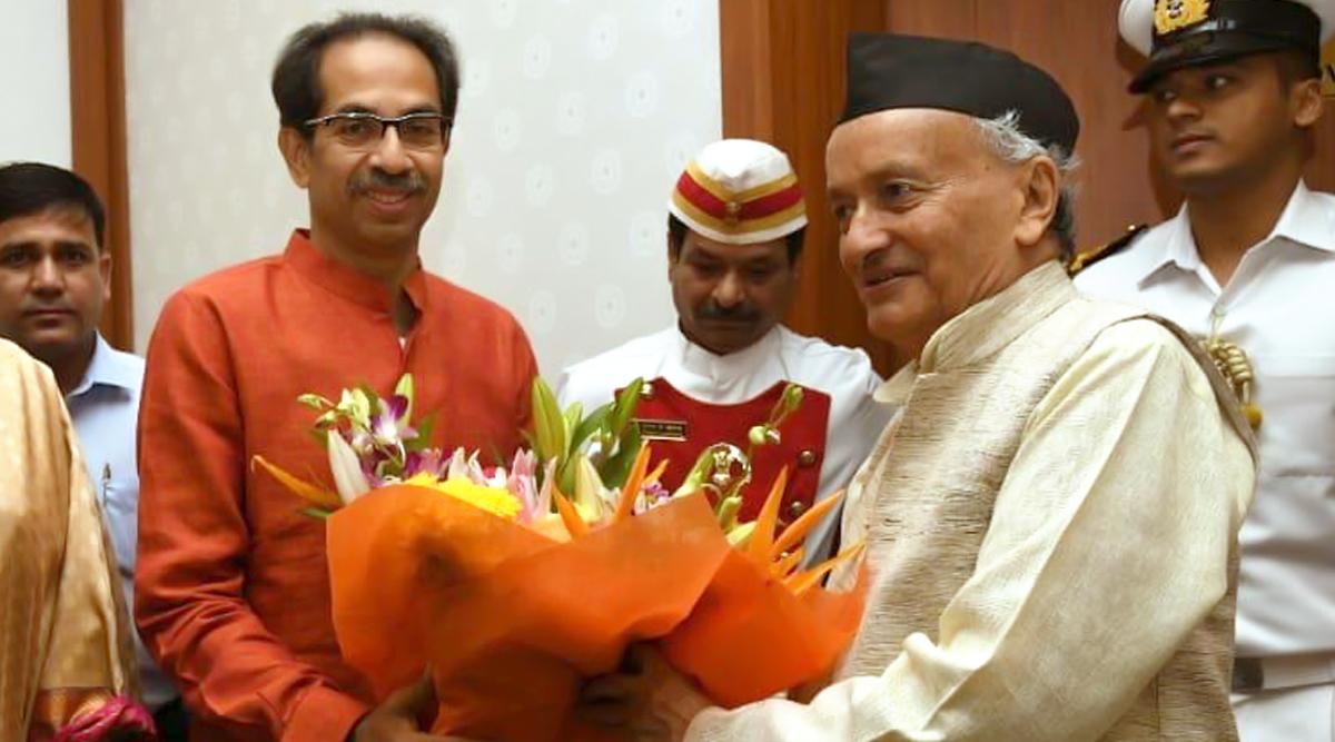 महाराष्ट्र: उद्धव ठाकरे और मंत्रियों ने शपथ से पहले लिए अपने नेताओं के नाम, राज्यपाल भगत सिंह कोश्यारी ने जताई आपत्ति