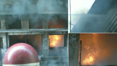 लुधियाना: होजरी फैक्ट्री में लगी भीषड़ आग, दमकल विभाग की कड़ी मशक्कत के बाद मिली कामयाबी