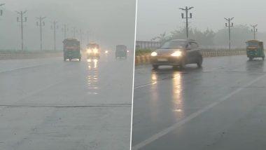 दिल्ली-एनसीआर में हल्की बारिश, राजधानी में अभी भी स्मॉग की घनी चादर