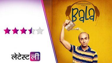 Bala Movie Review: गंजेपन से जूझ रहे आयुष्मान खुराना की इस फिल्म में है ढेर सारा एंटरटेनमेंट और एक खूबसूरत मैसेज