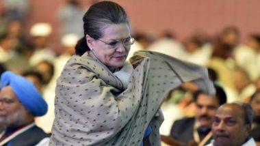 महाराष्ट्र में जारी सत्ता घमासान के बीच कांग्रेस नेता ने सोनिया गांधी को लिखा पत्र, कहा- शिवसेना के साथ बनाएं सरकार