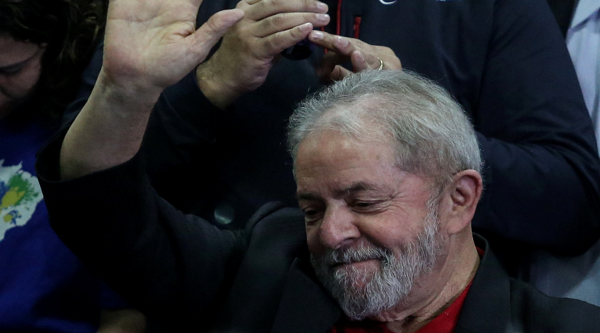 ब्राजील के पूर्व राष्ट्रपति लुइज इनासियो लूला डा सिल्वा जेल से रिहा, अप्रैल 2018 में हुए थे गिरफ्तार