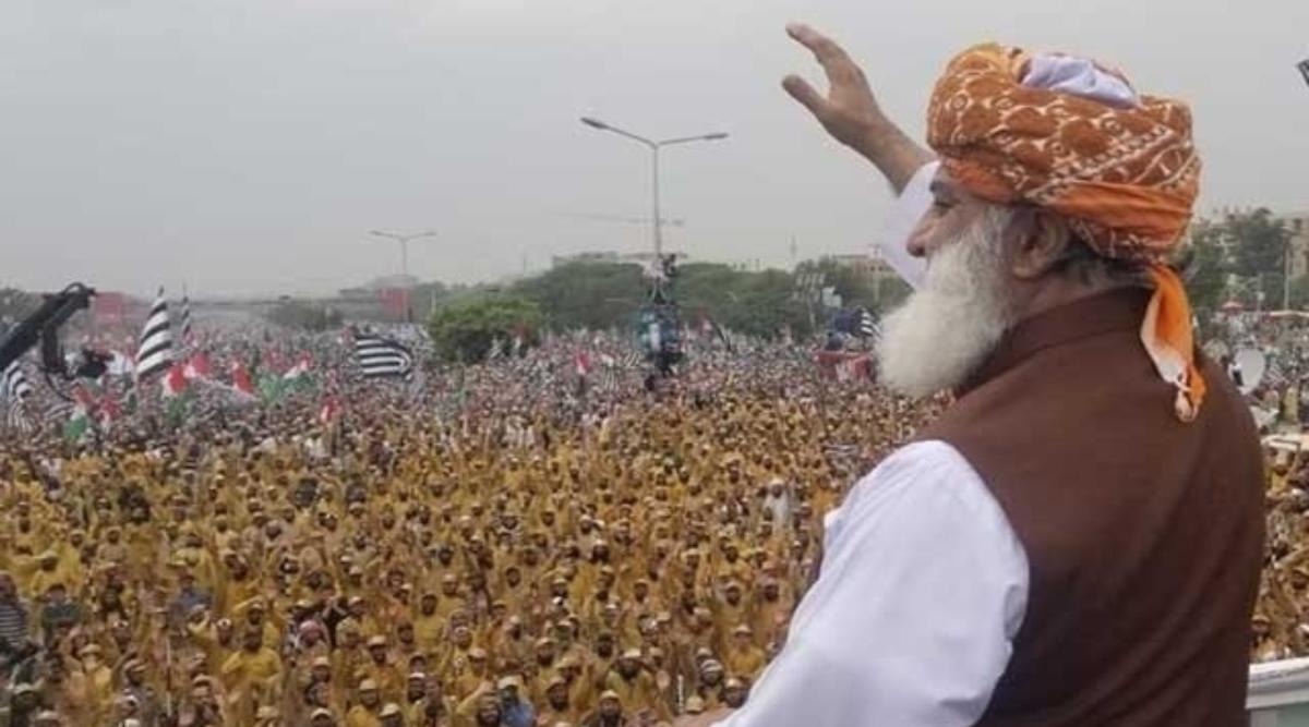आजादी मार्च: जमीयत उलेमा-ए-इस्लाम-फजल प्रमुख फजलुर रहमानलेंगे कठोर निर्णय