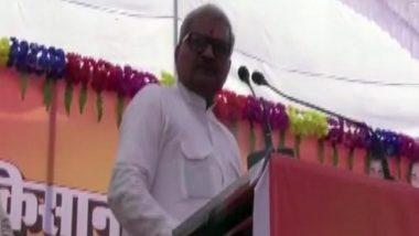 BJP सांसद जनार्दन मिश्रा बिगड़े बोल, कहा- किसानों से कर्ज वसूली के लिए आए तो हाथ तोड़ देंगे, गला दबाकर मार डालेंगे