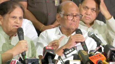 महाराष्ट्र: शिवसेना को समर्थन पर शरद पवार ने कहा- हमें कोई जल्दबाजी नहीं, कांग्रेस के साथ चर्चा के बाद फैसला लेंगे