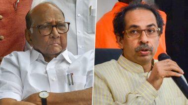 महाराष्ट्र में सियासी घमासान: सरकार गठन को लेकर  शिवसेना अध्यक्ष उद्धव ठाकरे और  शरद पवार के बीच बैठक जारी, लिया जा सकता है बड़ा फैसला