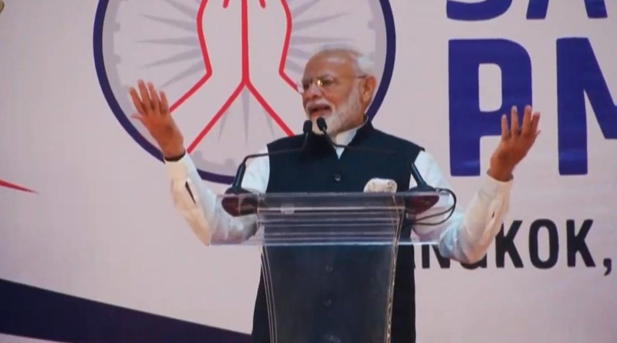 प्रधानमंत्री नरेंद्र मोदी ने थाई उद्यमियों को भारत में निवेश का दिया न्योता