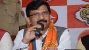 शिवसेना सांसद संजय राउत ने BJP पर किया प्रहार, कहा- पार्टी हमें डराने-धमकानें की कोशिश न करें