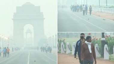 दिल्ली की हवा में कम हुआ जहर, खुले में सांस लेना फिर भी दूभर- मास्क लगाकर स्कूल पहुंचे बच्चे