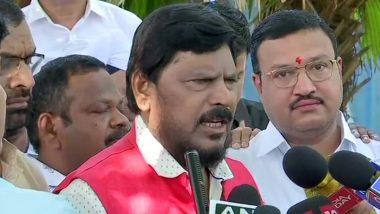 महाराष्ट्र में सत्ता घमासान जारी: केंद्रीय मंत्री रामदास आठवले बोले- सीएम बीजेपी का ही होना चाहिए