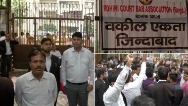 तीस हजारी विवाद: तीसरे दिन वकीलों की हड़ताल हुई उग्र, दिल्ली के तीन बड़े अदालतों में कामकाज ठप
