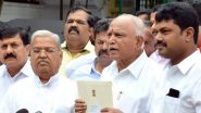 कोरोना वायरस से जंग: कर्नाटक के CM येदियुरप्पा मुख्यमंत्री राहत कोष में देंगे एक साल की सैलरी