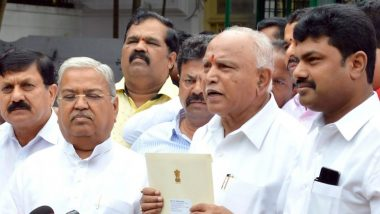 Karnataka By-Elections 2019: कांग्रेस की चुनाव आयोग से कर्नाटक के मुख्यमंत्री बी एस येदियुरप्पा के खिलाफ कार्रवाई की मांग