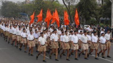 राष्ट्रीय स्वयंसेवक संघ झंडे को हटाने पर BHU अधिकारी को पद छोड़ने के लिए किया गया विवश